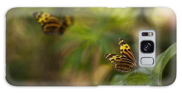 Two Butterflies Galaxy Case