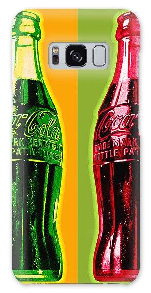 Two Coke Bottles Galaxy Case