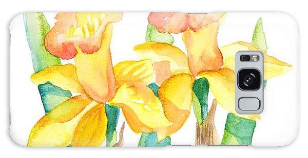 Two Daffodils Galaxy Case