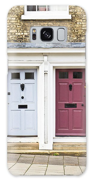 Door Galaxy Case - Two Doors by Tom Gowanlock