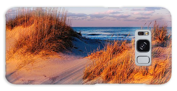 Two Dunes At Sunset - Outer Banks Galaxy Case