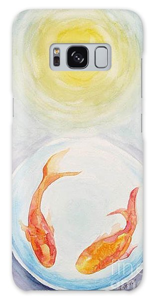Two Fish Galaxy Case by Shirin Shahram Badie