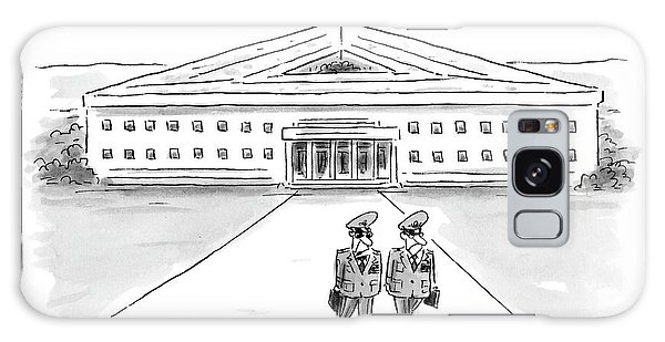Two Generals Walking Away From The Pentagon Galaxy Case