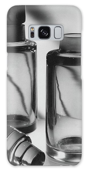Two Glass Decanters Galaxy Case