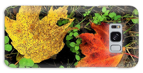 Two Leaves Galaxy Case