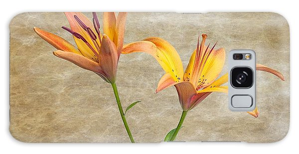 Two Lilies Galaxy Case