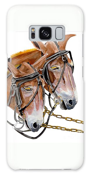 Two Mules - Enhanced Color - Farmer's Friend Galaxy Case