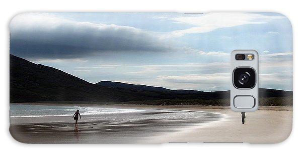 Two On A Beach Galaxy Case