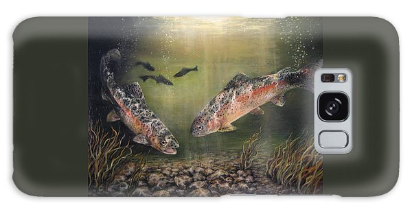 Two Rainbow Trout Galaxy Case