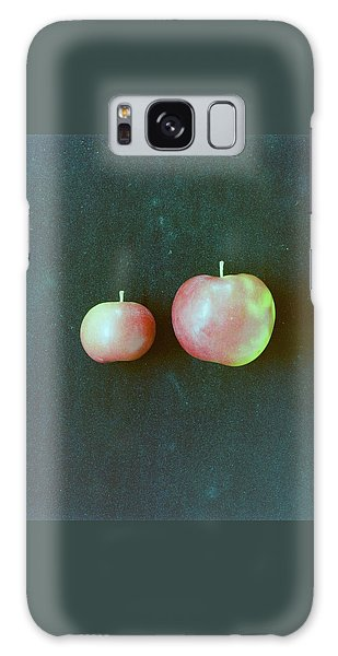 Two Red Apples Galaxy Case