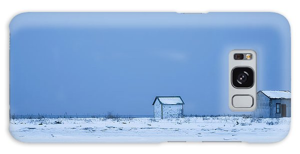 Shed Galaxy Case - Two Shacks by Christian Duguay