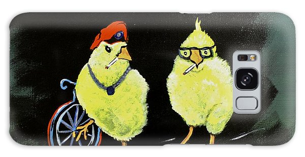 Two Smokin Hot Chicks Galaxy Case
