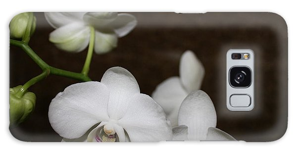 Two To Bloom Galaxy Case by Cathy Dee Janes