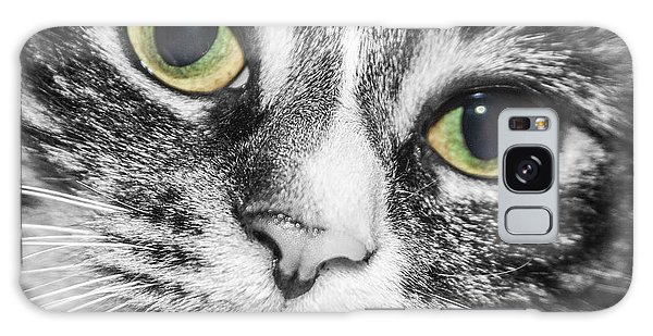 Two Toned Cat Eyes Galaxy Case