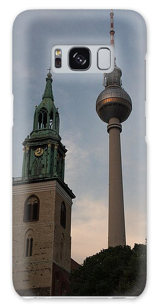 Two Towers In Berlin Galaxy Case