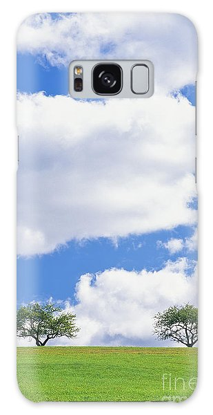 Two Trees Galaxy Case by Alan L Graham