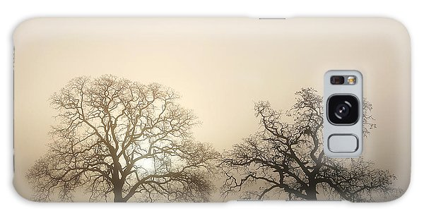 Two Trees In Fog Galaxy Case