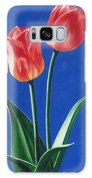 Two Tulips Galaxy Case