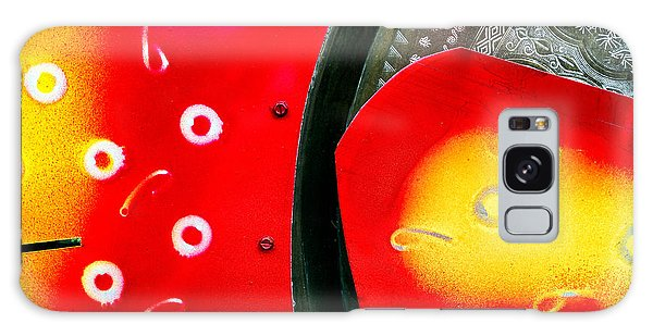 Tybee Island Art Galaxy Case