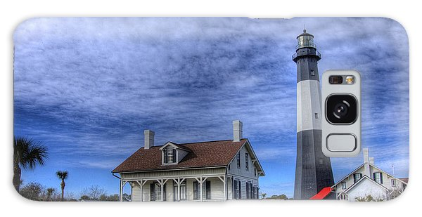 Tybee Island Lighthouse Galaxy Case