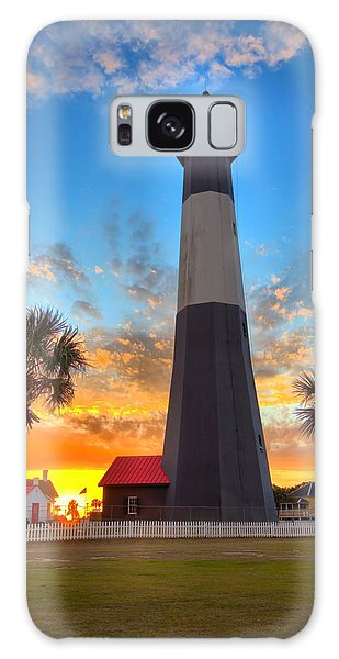 Tybee Island Sunrise Galaxy Case