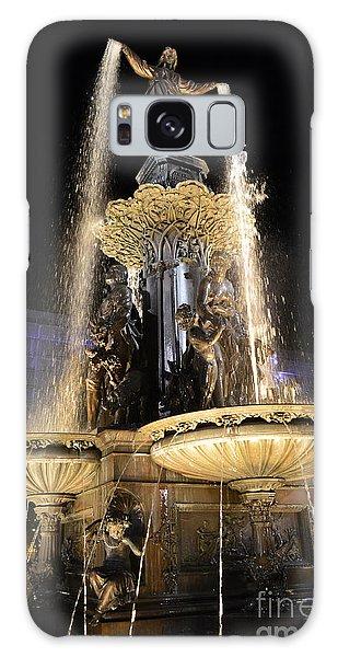 Fx9u-1250 Tyler Davidson Fountain Photo Galaxy Case