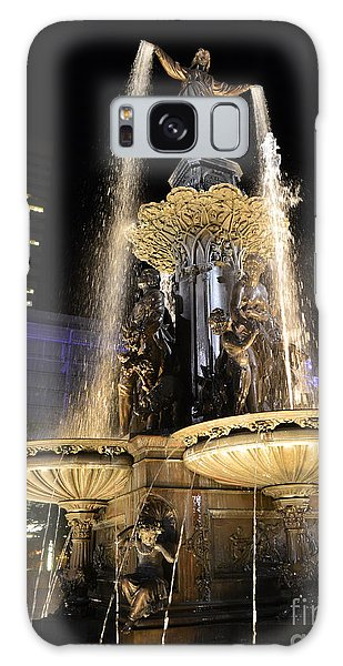 Fx9u-1250 Tyler Davidson Fountain Photo Galaxy Case