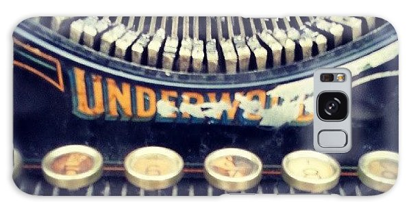 #typewriter #steampunk #writing Galaxy Case