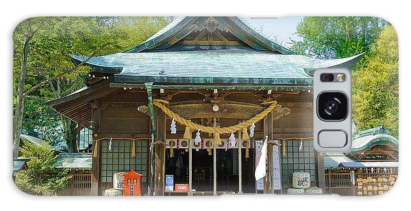 Typical Japanese Shinto Shrine Entrance Galaxy Case