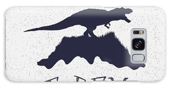 Dress Galaxy Case - Typography Label.angry Dinosaur On The by Dimonika