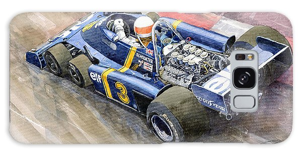 Elf Galaxy Case - Tyrrell Ford Elf P34 F1 1976 Monaco Gp Jody Scheckter by Yuriy Shevchuk