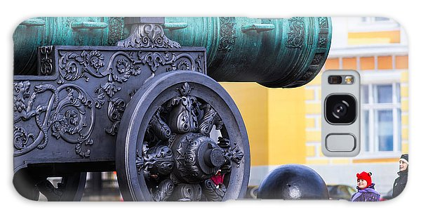Tzar Cannon Of Moscow Kremlin - Square Galaxy Case