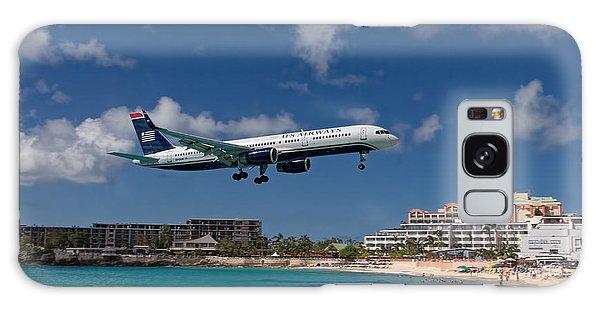 U S Airways Low Approach To St. Maarten Galaxy Case