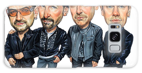 U2 Galaxy Case - U2 by Art
