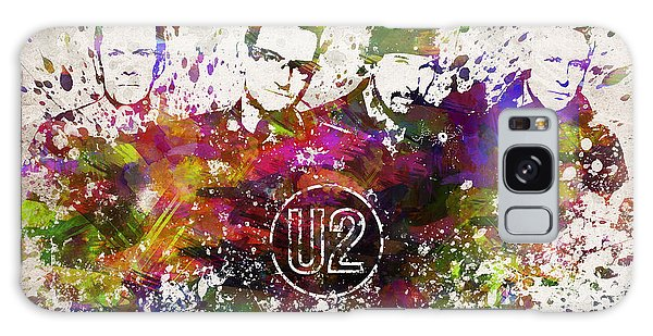 U2 Galaxy Case - U2 In Color by Aged Pixel