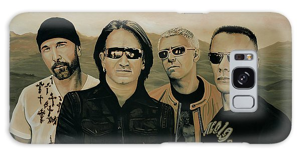 U2 Galaxy Case - U2 Silver And Gold by Paul Meijering