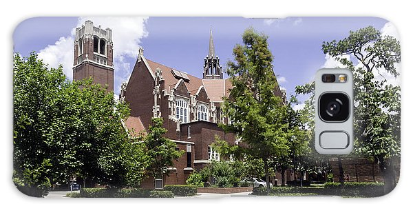 Uf University Auditorium And Century Tower Galaxy Case by Lynn Palmer