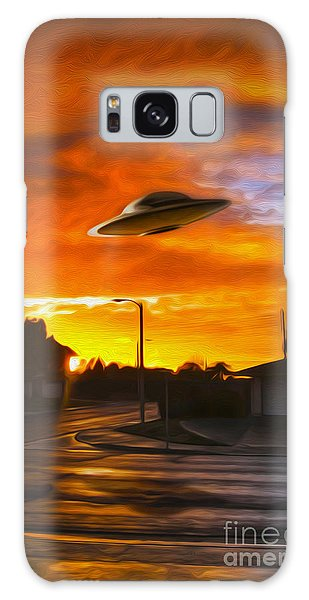 UFO Galaxy Case by Gregory Dyer