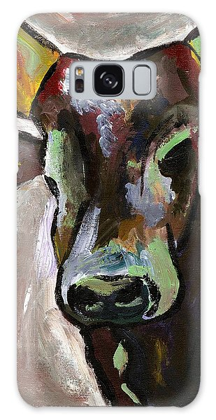 Ugandan Long Horn Cow Galaxy Case