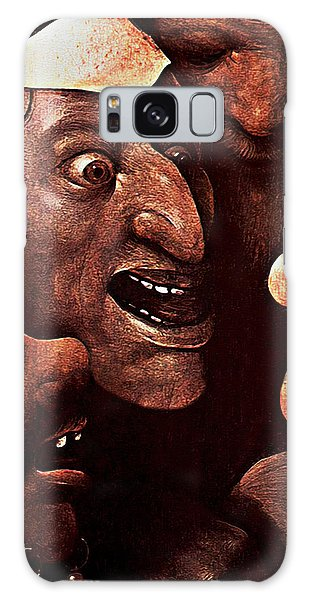 Ugly Faces Galaxy Case