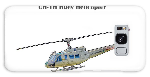 Uh-ih Huey Helicopter Galaxy Case