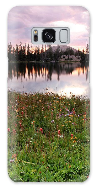 Uinta Wildflowers Galaxy Case