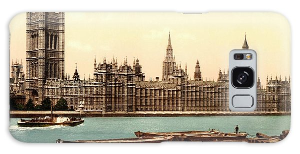Houses Of Parliament Galaxy Case - Uk Houses Of Parliament by Library Of Congress/science Photo Library
