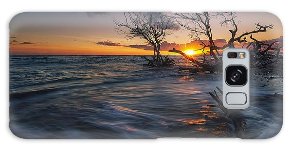 Ukumehame Sunset Galaxy Case by Hawaii  Fine Art Photography