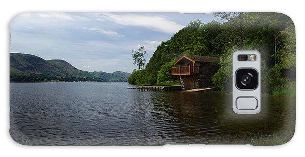 Ullswater Boathouse Galaxy Case by Graham Hawcroft pixsellpix