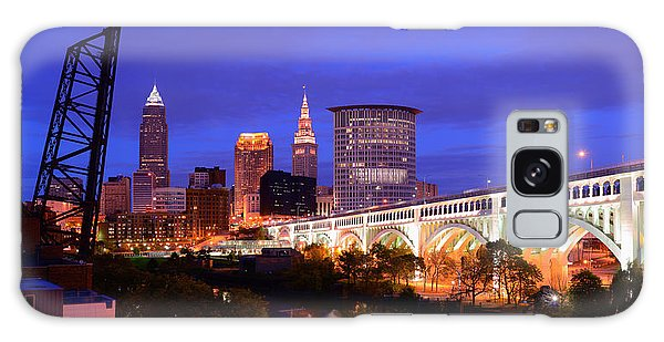 Ultra Rez Clevelands Best View Panorama  Galaxy Case