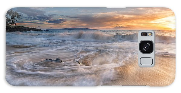 Ulua Beach Sundown Galaxy Case by Hawaii  Fine Art Photography