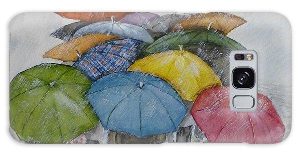 Umbrella Huddle Galaxy Case