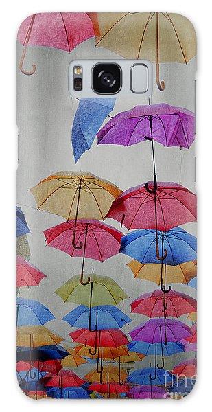 Umbrellas Galaxy Case