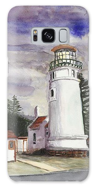 Umpqua Lighthouse Galaxy Case